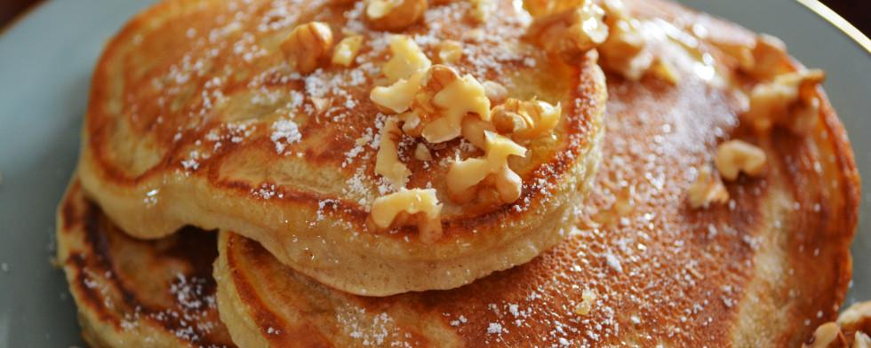 Pancakes ohne Milch und Ei