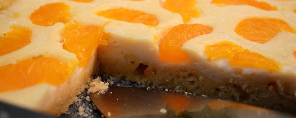 Veganer Käsekuchen mit Mandarinen lesen