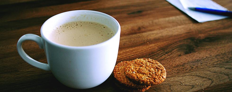 Chai-Tee schmeckt an warmen und an kalten Tagen.