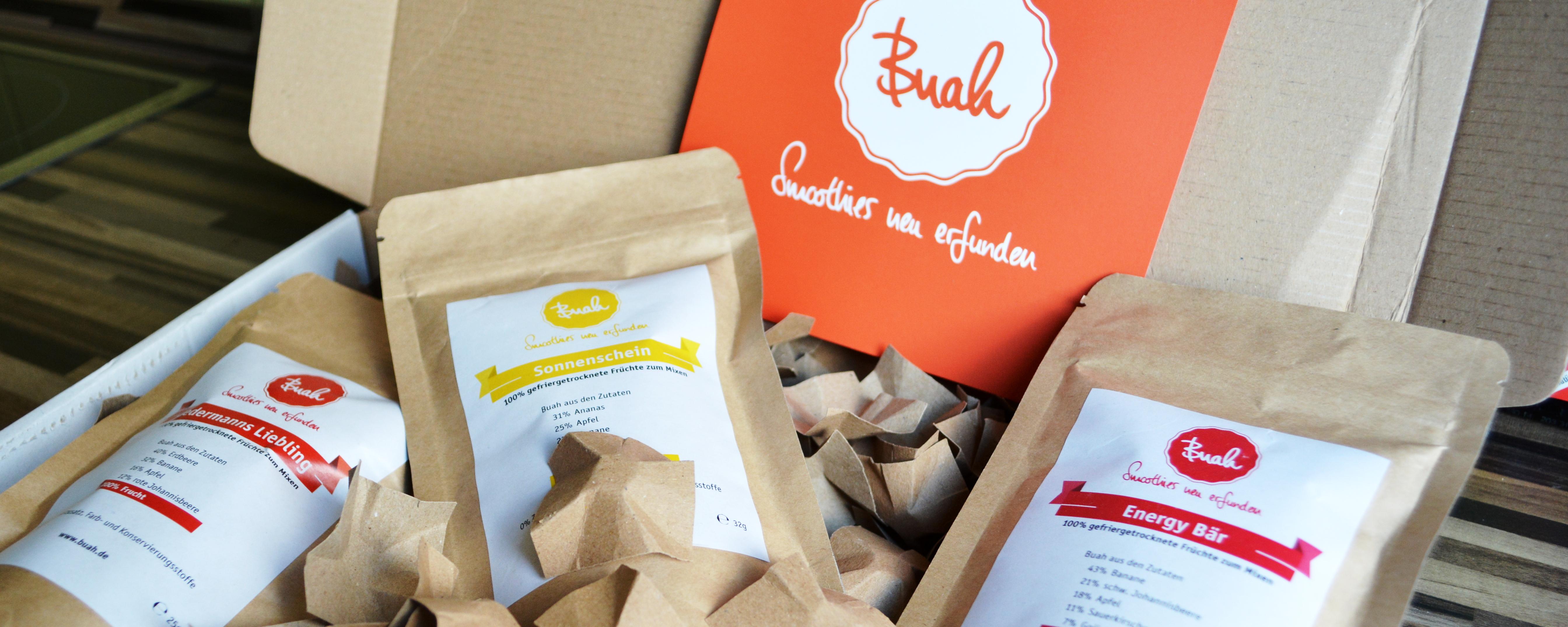 Ökologisch einwandfrei wird euch das Paket geliefert.