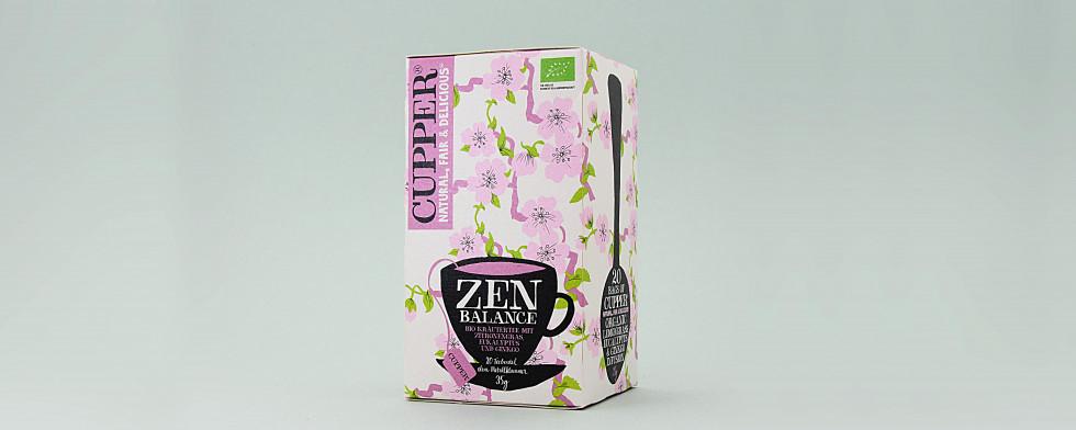 Zen Balance - abschalten, wohlfühlen. Kräutergeschmack mit Eukalyptus-/Zitronengras verfeinert