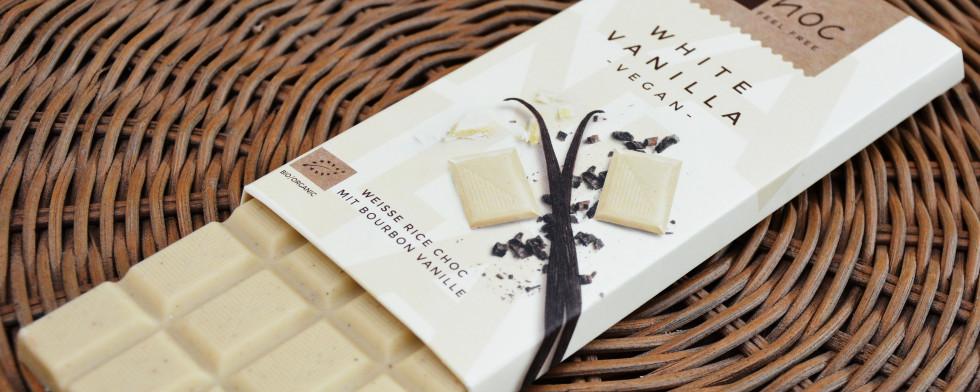 Weiße Schokolade mit Bourbon-Vanille