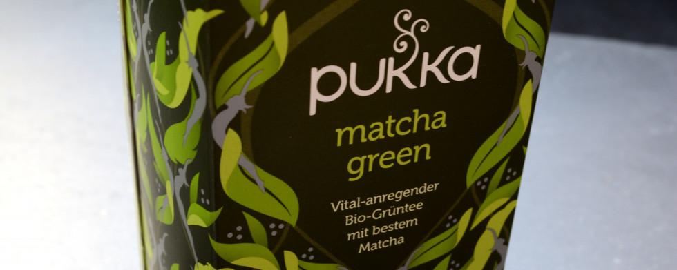 Der Matcha-Tee ist Energie für müde Krieger.