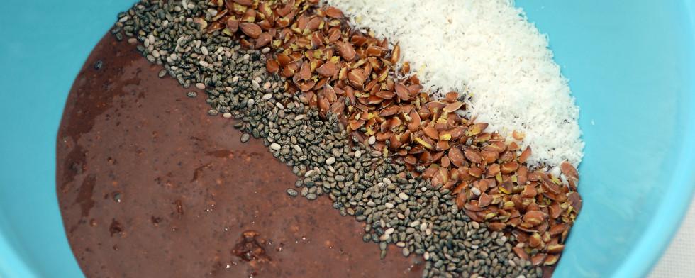 Kakaogeflüster im Detail.