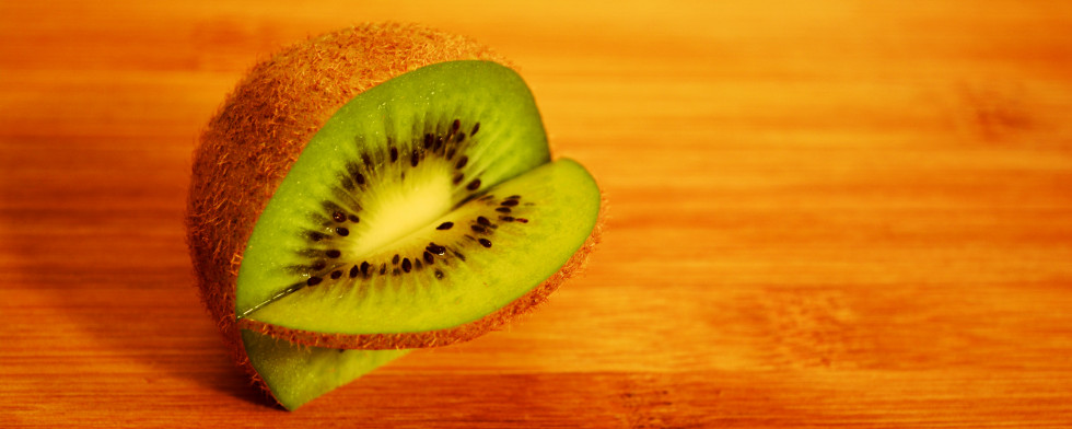 Kiwis sehen nicht nur klasse aus, sondern haben auch sehr gute Inhaltsstoffe.